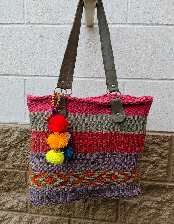 Handwoven Vintage Purse Marcelina
