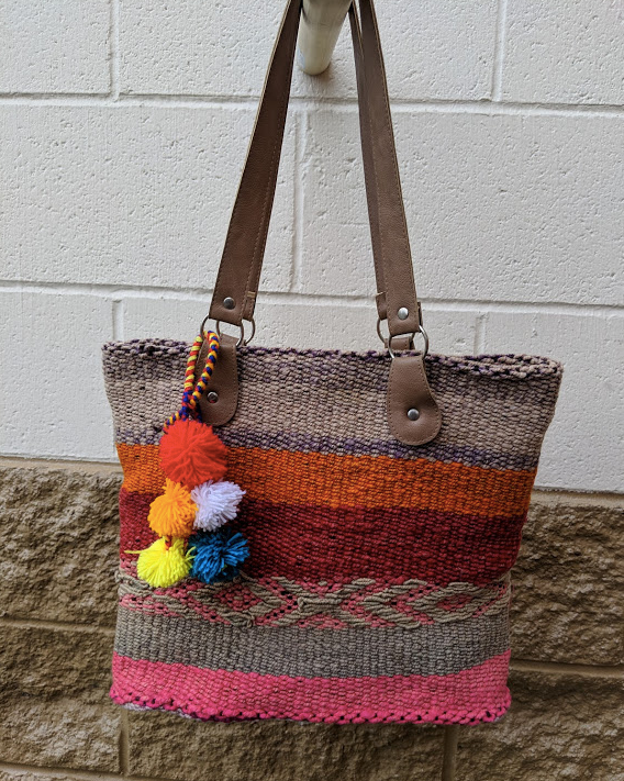 Handwoven Vintage Purse Nelly