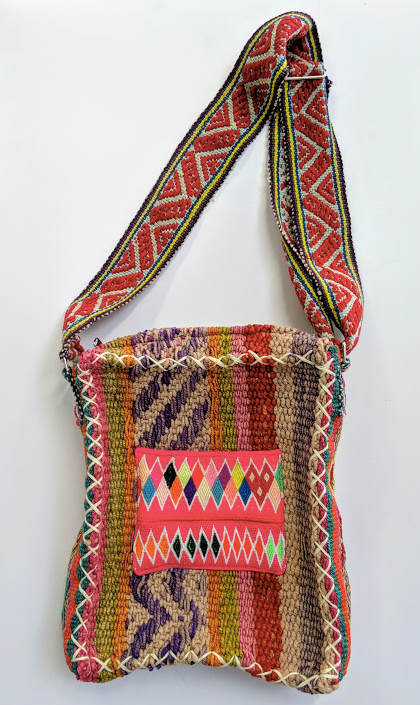 Handwoven Vintage Laptop Bag Amanecer