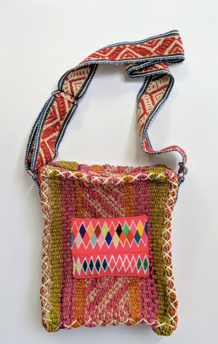 Handwoven Vintage Laptop Bag Sunset