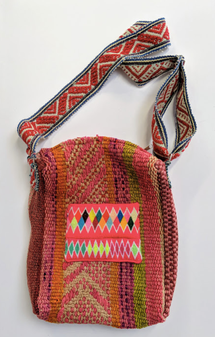 Handwoven Vintage Laptop Bag Tierra