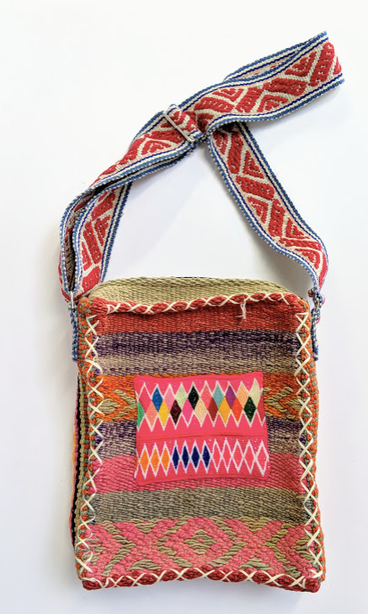 Handwoven Vintage Laptop Bag Earth