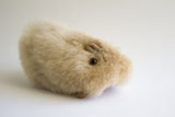 Alpaca Stuffed  Animal Small Guinea Pig