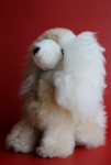 Alpaca Stuffed Dog