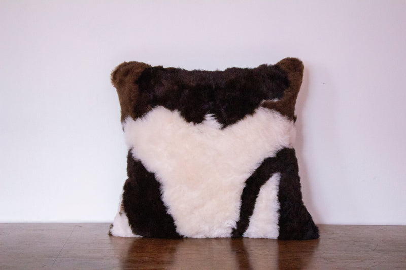 huacaya alpaca pillow