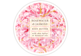 Greenwich Bay Trading Co Rosewater & Jasmine body butter - MerryBath.com