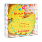 Spongelle Body Wash Infused Sponge Duckie
