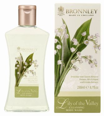 Bronnley Lily of the Valley Body Wash - MerryBath.com