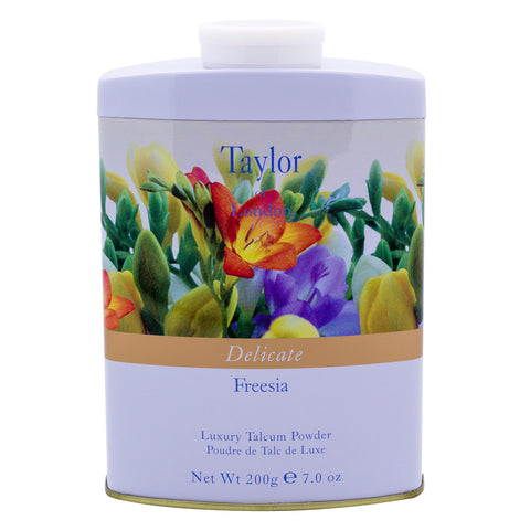 Taylor of London Freesia talcum body powder - MerryBath.com