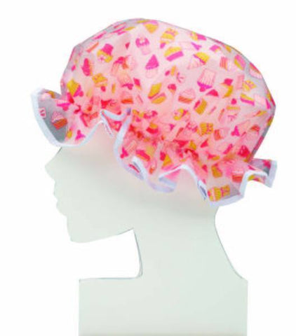 Cupcake Shower Cap - MerryBath