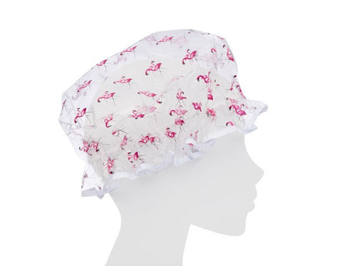 Accessories - ORE ORIGINALS <br> Flamingos Shower Cap