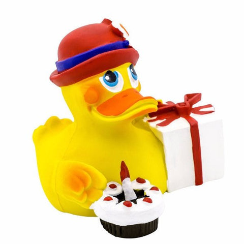 Lanco Rubber Duckie - Happy Birthday - MerryBath