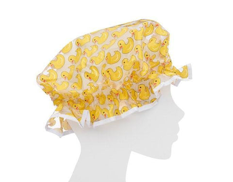 Rubber Duckies Shower Cap - MerryBath - 1