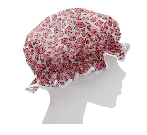 Valentine Lips Shower Cap - MerryBath