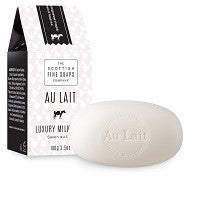 Scottish Fine Soaps Au Lait Milk Soap Beauty Bar - MerryBath.com