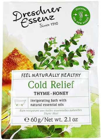 DRESDNER ESSENZ Bath Salt - Cold Relief (Thyme - Honey) - MerryBath