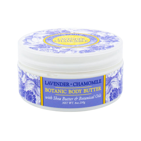 Body Lotion - GREENWICH BAY Body Butter - LAVENDER CHAMOMILE