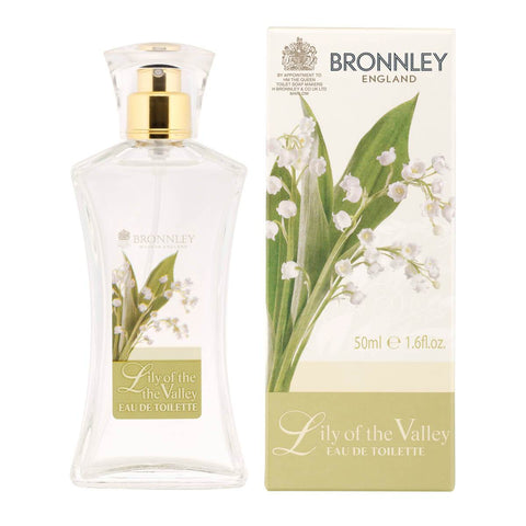 Body Powder - BRONNLEY  - Lily Of The Valley Fragrance EDT