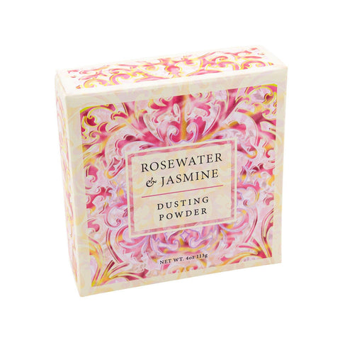 Body Powder - GREENWICH BAY Dusting Powder - ROSEWATER JASMINE