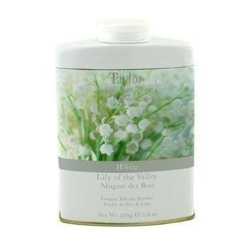 TAYLOR of LONDON Luxury Talcum Powder - Lily of the Valley - MerryBath.com