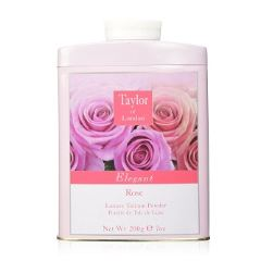 TAYLOR of LONDON Luxury Talcum Powder - Rose - MerryBath