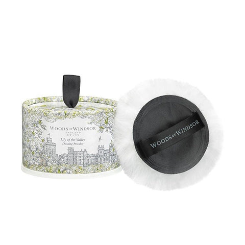 WOODS OF WINDSOR Dusting Powder - Lily Of The Valley - MerryBath