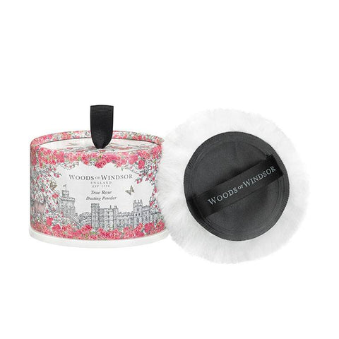 WOODS OF WINDSOR Dusting Powder - True Rose - MerryBath