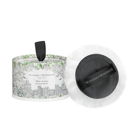 WOODS OF WINDSOR Dusting Powder - White Jasmine - MerryBath