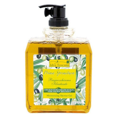 PRIMA SPREMITURA Moisturizing Shower Gel with Organic Olive Oil - MerryBath