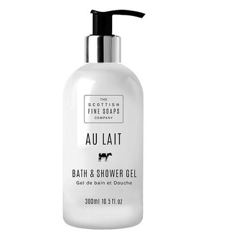 SCOTTISH FINE SOAPS Au Lait Milk Bath & Shower Gel - MerryBath