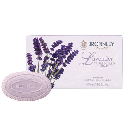 Soaps - BRONNLEY -  Lavender Soap Set