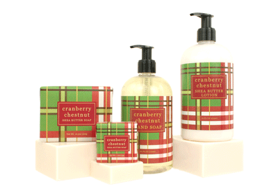 Soaps - GREENWICH BAY Trading Co - CRANBERRY CHESTNUT