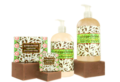 Soaps - GREENWICH BAY Trading Co - GINGERBREAD