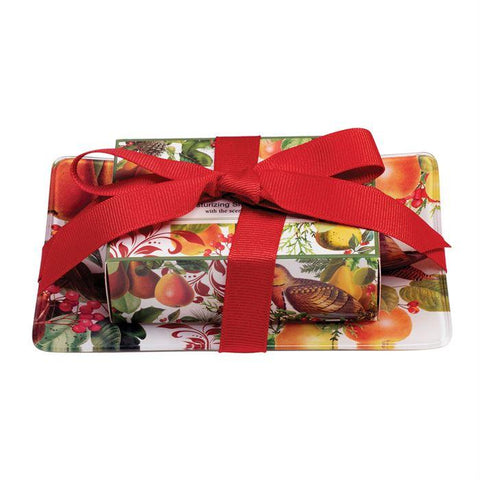 Soaps - MICHEL DESIGN WORKS Holiday Soap Gift Set - IN A PEAR TREE