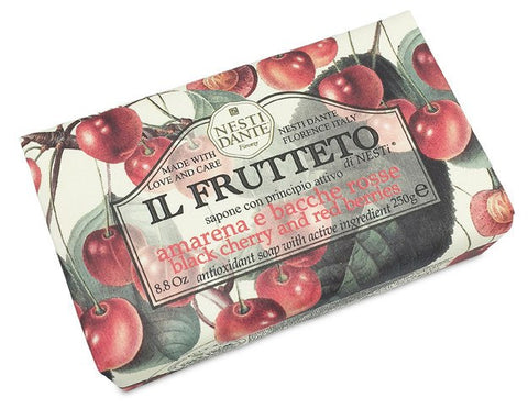 NESTI DANTE Black Cherry and Red Berries Bar Soap - MerryBath