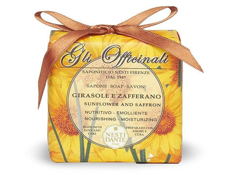 Soaps - NESTI DANTE <br> Sunflower And Saffron Soap