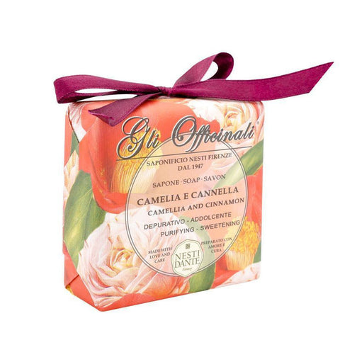 NESTI DANTE Camellia and Cinnamon Bar Soap - MerryBath