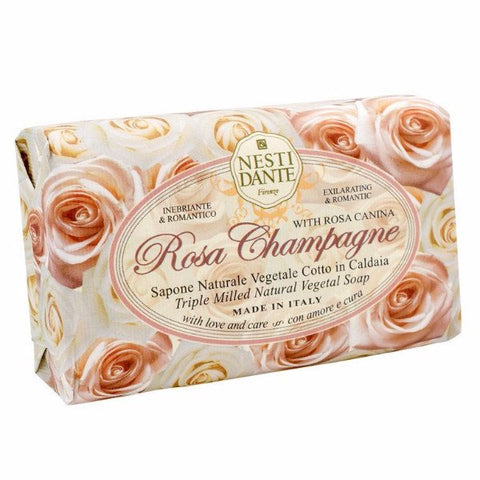 NESTI DANTE Champagne Rose Bar Soap - MerryBath