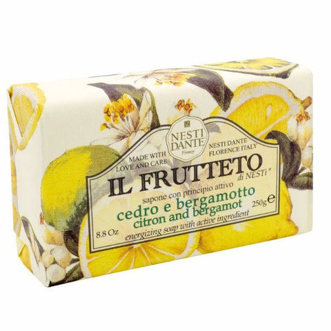 NESTI DANTE Citron and Bergamot Bar Soap - MerryBath