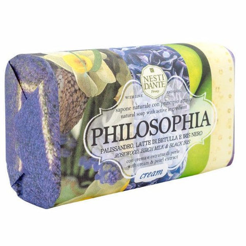 NESTI DANTE Cream & Pearl Soap - Philosophia Collection - MerryBath