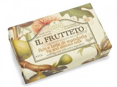 NESTI DANTE Italy - Fig and Almond Milk Bar Soap - Il Frutteto - MerryBath.com
