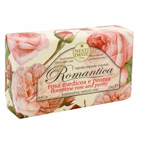 NESTI DANTE Florentine Rose & Peony Bar Soap - MerryBath