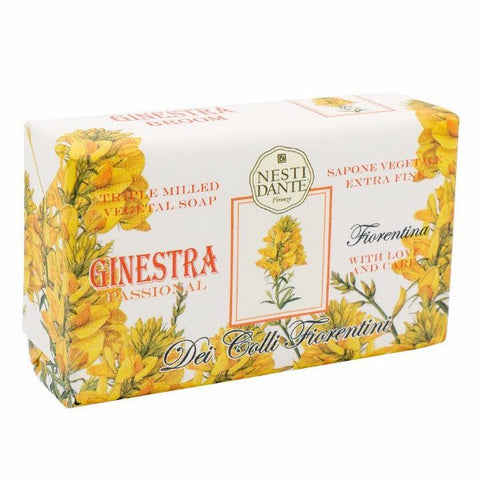 NESTI DANTE Ginestra - Broom Bar Soap - MerryBath.com