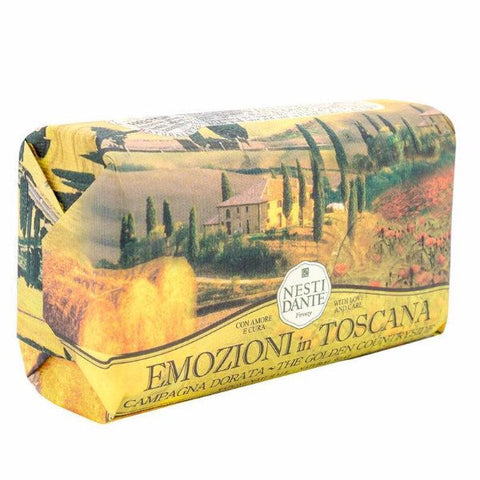 NESTI DANTE Golden Countryside Soap Bar (Campagna Dorata) - MerryBath