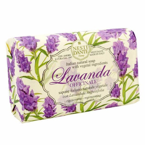 NESTI DANTE Lavanda - Lavender Bar Soap (Officinale) - MerryBath