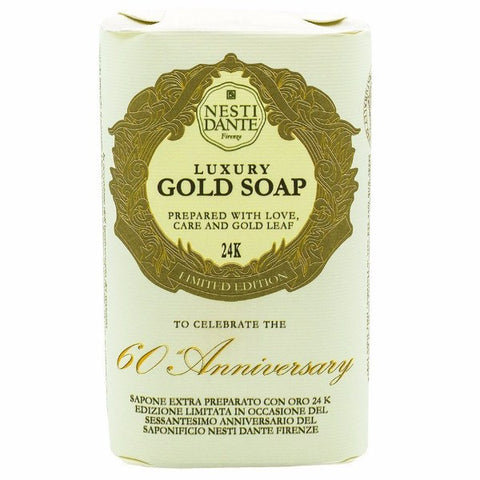 NESTI DANTE Luxury Gold Leaf Bar Soap (Limited Edition 60th Anniversary) - MerryBath