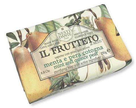 NESTI DANTE Mint and Quince Pear Soap - MerryBath