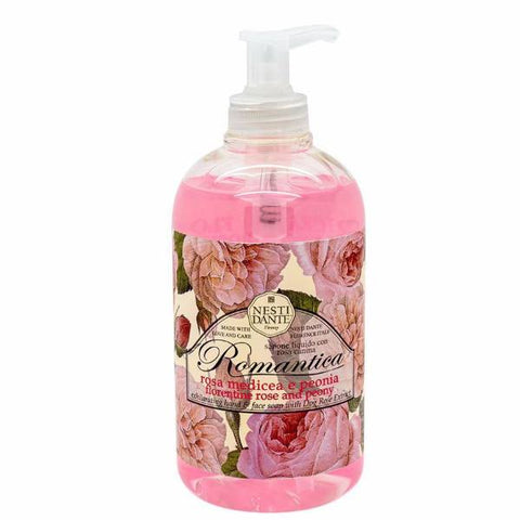 NESTI DANTE Romantica Rose & Peony Liquid Soap - MerryBath