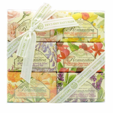 NESTI DANTE Italy Romantica Floral Soap Collection - MerryBath.com
