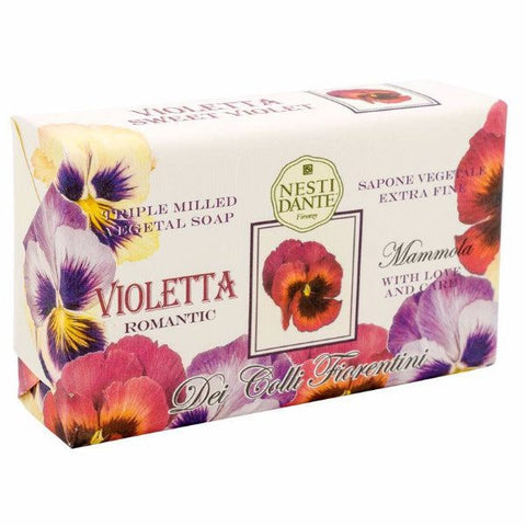 NESTI DANTE Sweet Violet Bar Soap (Violetta) - MerryBath